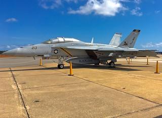 166639 F/A-18F VFA-213 AJ-213