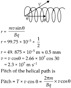 NCERT Solutions for Class 12 Physics Chapter 4 Moving Charges and Magnetism 32