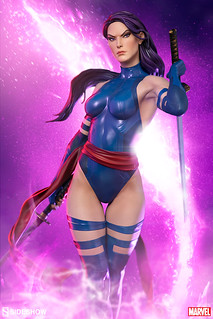 Sideshow Collectibles Premium Format Figure Marvel Comics Psylocke 1/4 Scale Statue