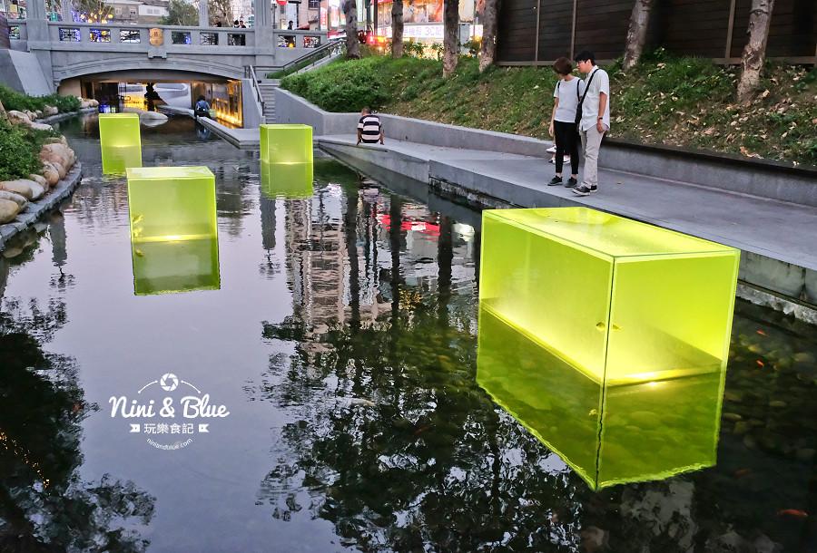 柳川水岸 2018 新盛綠川 燈節 IG打卡02
