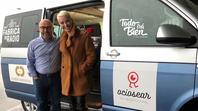 Foto 2018 10 18 Soraya Arnelas Paco Cremades La Fabrica de Radio 4