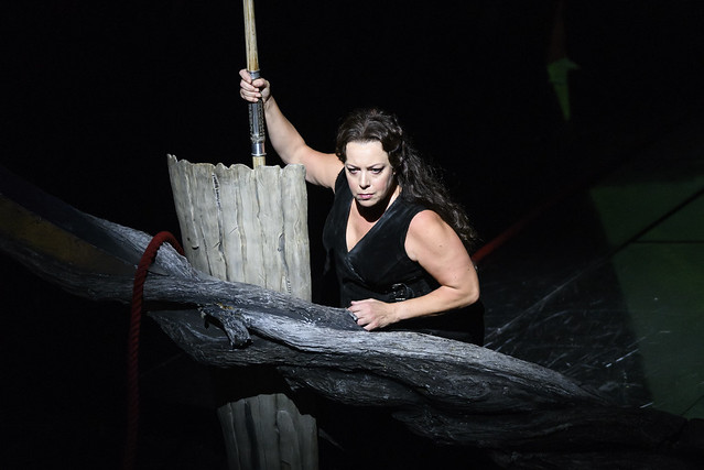 Nina Stemme as Brünnhilde in Die Walküre, The Royal Opera ©2018 ROH. Photograph by Bill Cooper