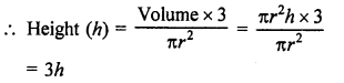 Surface Areas and Volume of A Right Circular Cone Class 9 RD Sharma Solutions