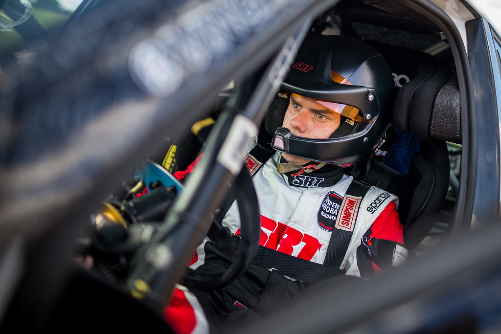 GRYAZIN Nikolay (LVA), FEDOROV Yaroslav (RUS), SPORTS RACING TECHNOLOGIES, Skoda Fabia R5, portrait during the 2018 European Rally Championship Rally Poland at Mikolajki from September 21 to 23 - Photo Thomas Fenetre / DPPI
