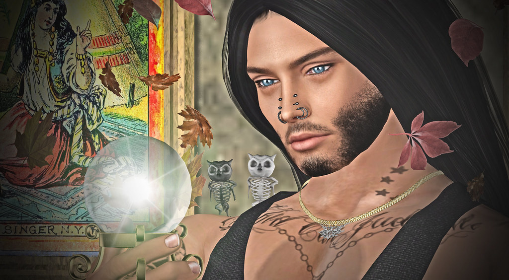 Fortune Telling / Voyance 7 FREE items on SL Treasure!   Flickr