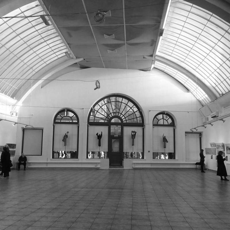 Выставка Е. Аблина на Кузнецком Мосту сент 18