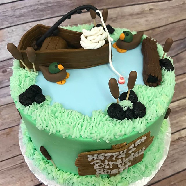 Cake by Ann's Kitchen Cakes