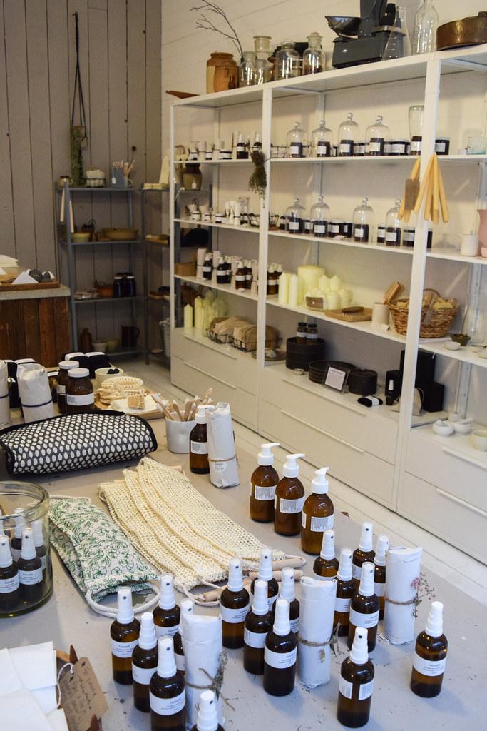Shop Display at Honest Skincare, Birmingham