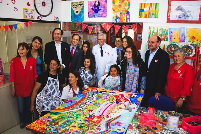 07-11-18 Ministro Alfredo Moreno visita Teletón Temuco