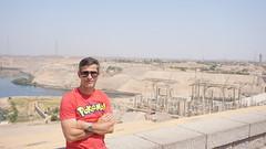 The Aswan High Dam, Egypt.