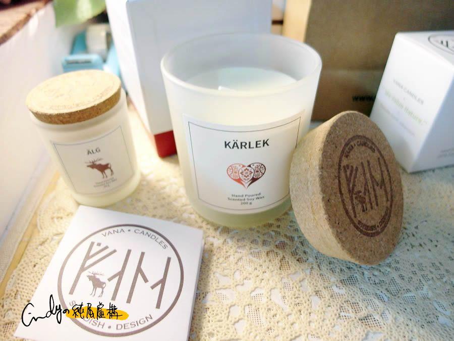 Vana Candles大豆蠟燭