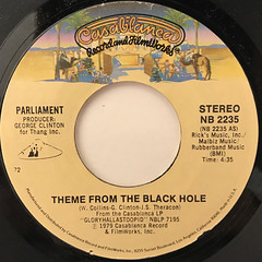 PARLIAMENT:THEME FROM BLACK HOLE(LABEL SIDE-A)
