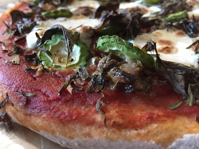 Sardine/Bitter Gourd Pizza