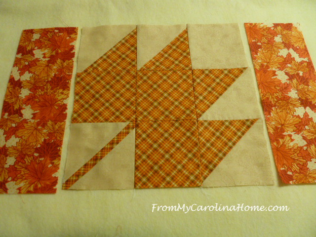 Autumn Jubilee Sew Along Placemats at FromMyCarolinaHome.com