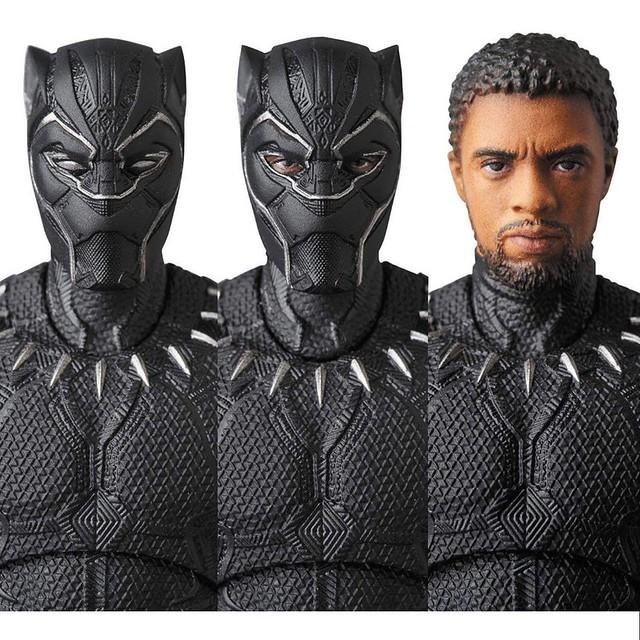 附屬帝查拉的露臉頭雕!! MAFEX《復仇者聯盟3:無限之戰》黑豹 Black Panther