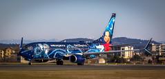 Westjet Disney 737
