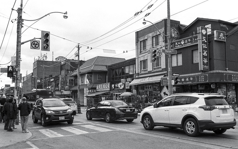 Busy Dundas and Chinatown
