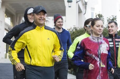 Běh je způsob odpočinku i nabráním nové energie, říká kouč manažerů