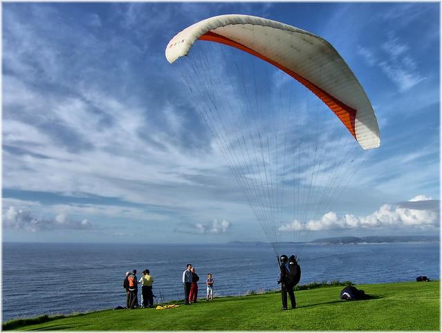 5939-Parapente en el Monte San Pedro de A Coruña