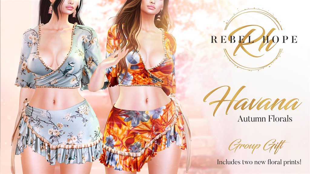 Rebel Hope group gift - Havanna - Autumn Florals