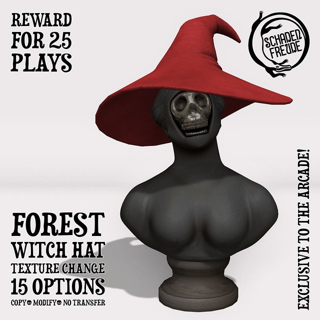 forest witch hat reward