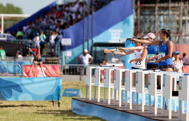 Rocío Aragón completa final del pentatlón en Buenos Aires 2018