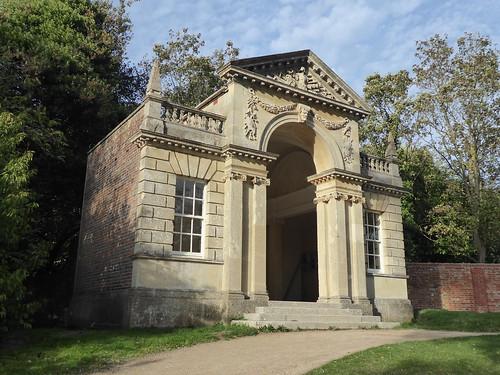 The Blenheim Pavilion, Tortoise Fountain, Cliveden, Buckinghamshire