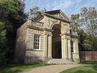 The Blenheim Pavilion, Tortoise Fountain, Cliveden, Buckinghamshire