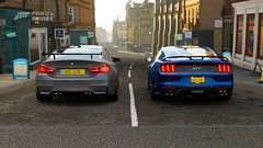 BMW M4 GTS & Mustang GT350  / FM7