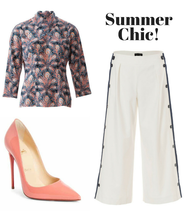 Summer Chic Retro Blouse Style