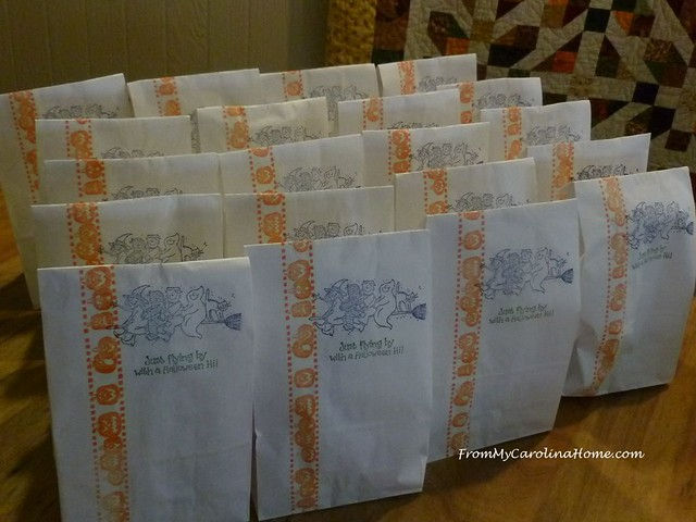 Treat Bags at FromMyCarolinaHome.com