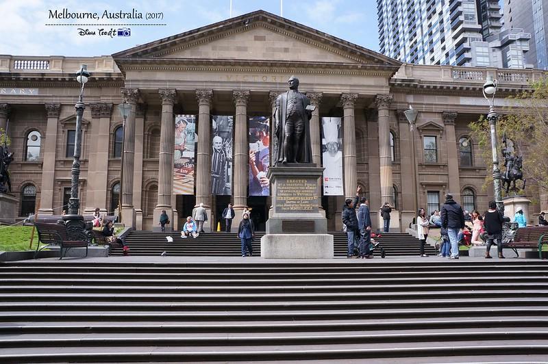 2017 Australia Melbourne Day 1 State Library of Victoria