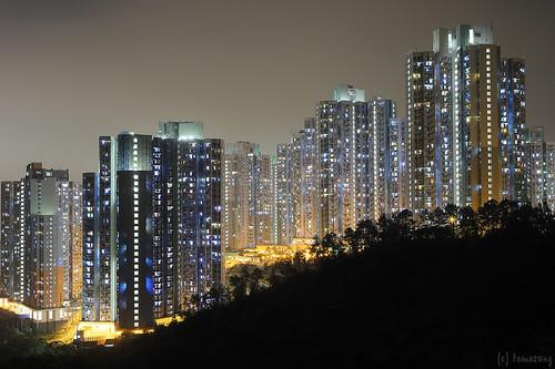 Fo Dau Ping at Night