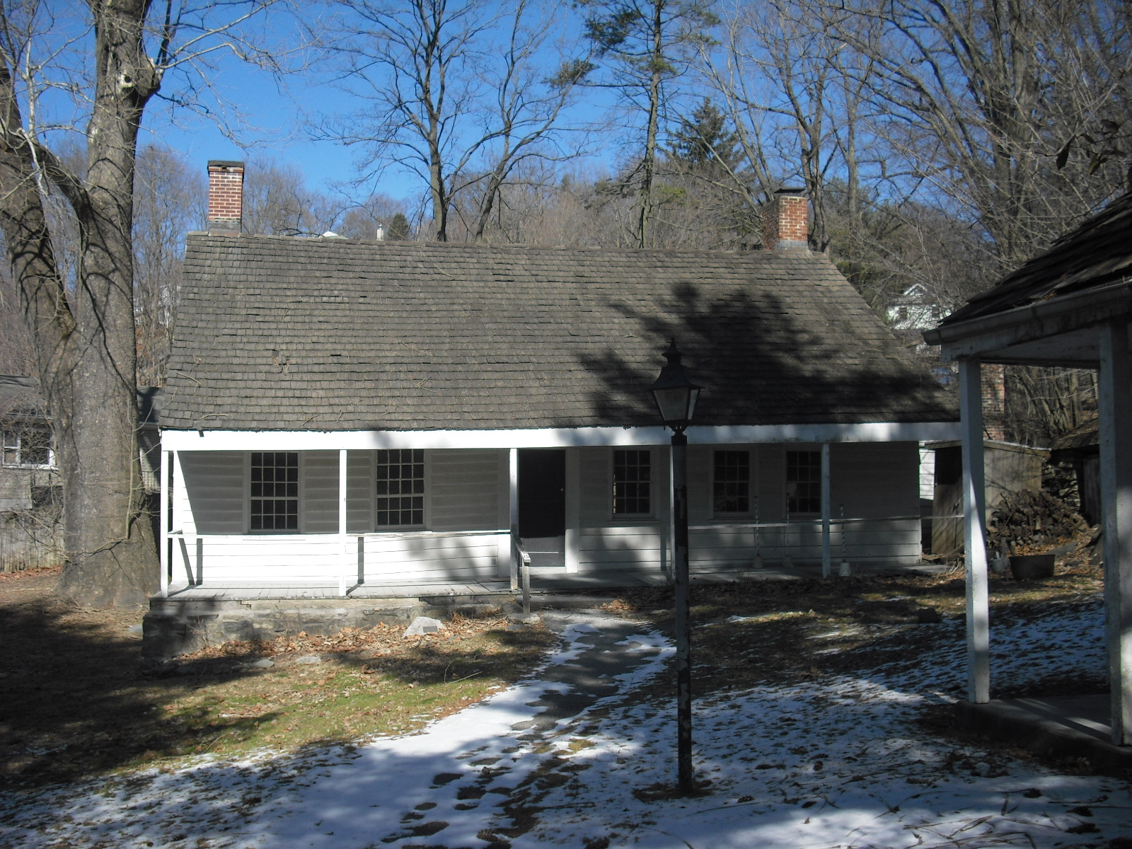 The Elijah Miller House, which served as George Washington's headquarters in White Plains, New York, in October 1776. Photo taken on November 11, 2009.