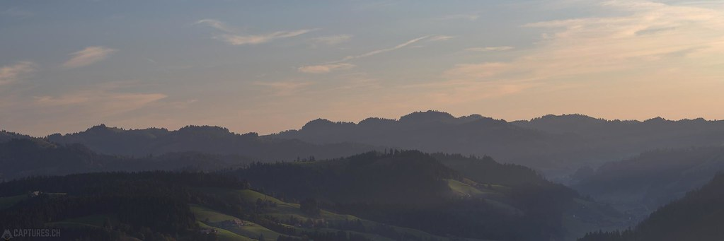 Morning panorama - Emmental