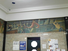 New London, Connecticut Post Office Mural