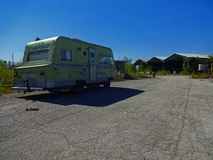 Camping at the resort..