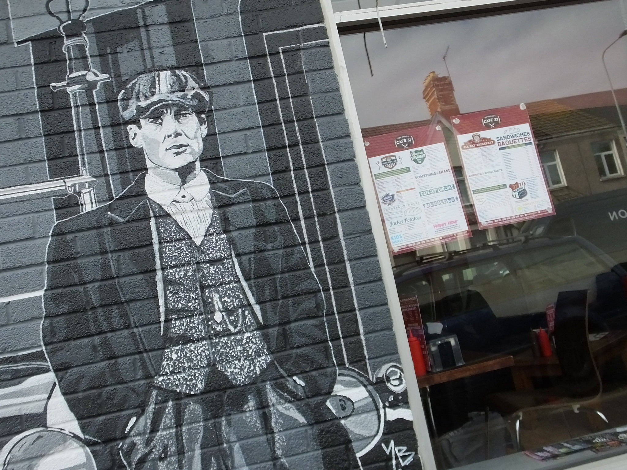 Street art Cathays, Cardiff