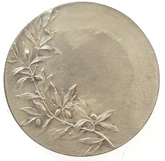 French Fencing Medal reverse