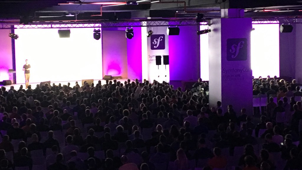 SymfonyCon Lisbon 2018 - Audience
