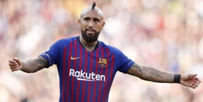 Vidal tidak senang dengan peran Barcelona