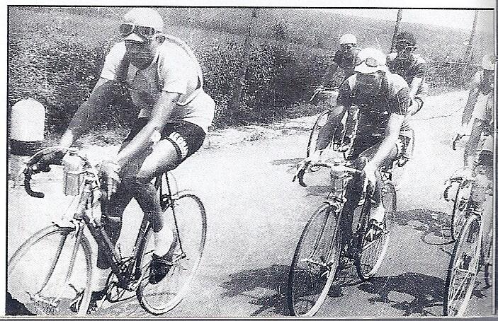Giro d'Italia 1940  F.Coppi con Gino Bartali