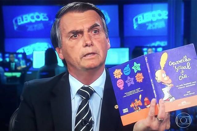 Bolsonaro utiliza exposição no Jornal Nacional para espalhar notícias falsas - Créditos: Foto: Reprodução