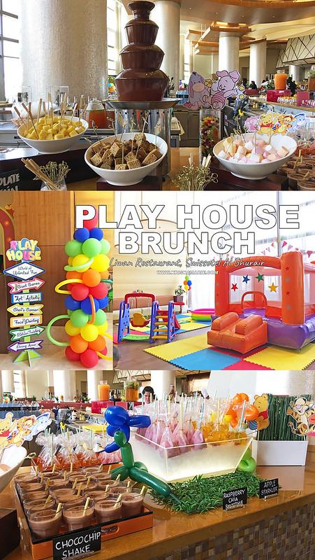 Play House Brunch at Swissotel Al Ghurair