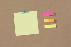Sticky Note Clipping With Lable