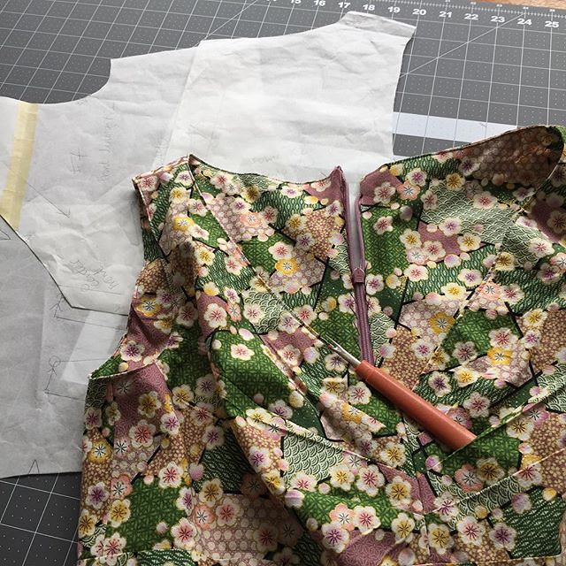 Tackling this dress we all love with the seam ripper. It always feels easier to construct (than to deconstruct).