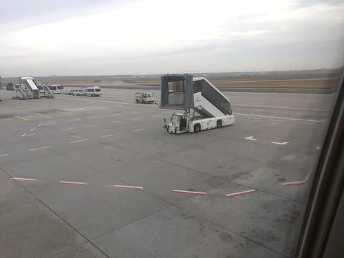 Frankfurt Airport - Gangway car