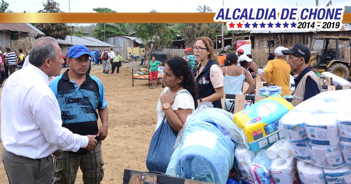 Damnificados de La Victoria reciben asistencia humanitaria