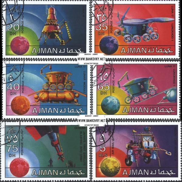 Známky Ajman 1971 Výskum vesmíru