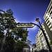 """Metropolitain Station  """"Richard Lenoir"""" - Paris - France"""